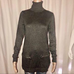 Michael Kors turtleneck tunic sweater